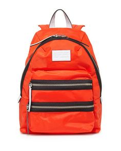 Marc by Marc Jacobs Domo Arigato Packrat Backpack Orange NWT #MarcbyMarcJacobs #Backpack