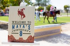 A Western Cowboy and Cowgirl Party by Me & Riley in Dubai : Anders Ruff Custom Designs :