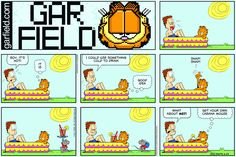 Garfield   Daily Comic Strip on June 25th, 2017