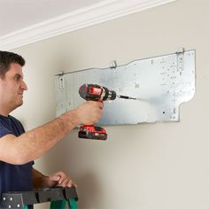 Locate the Air Handler for How to Install a Mini-Split Heat Pump Garage Air Conditioner, Garage Game Rooms, Ductless Ac, Mini Split Ac, Studio Apartment Living, Garage Door Insulation, Refrigeration And Air Conditioning, Hvac Maintenance, Bungalow Renovation