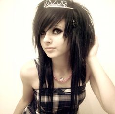 Terrific 1000 Images About Hair On Pinterest Emo Haircuts Emo Hair Hairstyles For Women Draintrainus