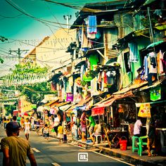 Manilla (Philippines) - visiting the Philippines was an eye-opening, life changing experience.