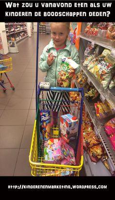 Wat zouden uw kinderen kopen in de supermarkt als zij de boodschappen mochten doen? Welke invloed heeft marketing op de kinderen? Kijken zij nog wel naar het product of puur alleen naar de verpakking? Lees wat lisa van 6 jaar kocht: http://kinderenenmarketing.wordpress.com/2014/10/26/81/