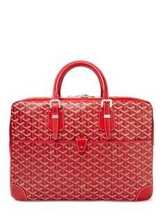 Red Ambassade Briefcase from GOYARD