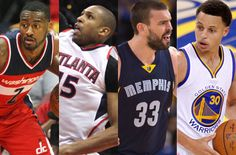 Game of the Day: Tuesday's NBA Playoff matchups Game Of The Day, Washington Wizards, Atlanta Hawks, Nba Playoffs, The Past, Games, Toys, Game