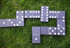 How to Make Giant Wooden Dominoes (For Backyard Fun!)