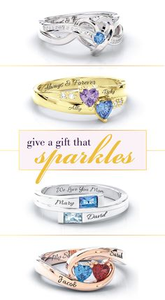 Personalized jewelry- the perfect gift for the one you love. Choose from hundreds of styles and personalize with your choice of metal, birthstones and engravings. Free shipping + free gift with every order on Jewlr.com!