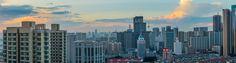 https://flic.kr/p/wBKLrH   Shenyang Cityscape   Shenyang China (looking north) just before sunset.