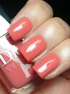 Beautiful Dior coral color .. Must have it!