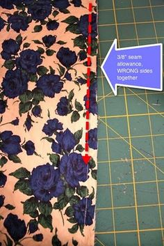 french seam tutorial from Gertie
