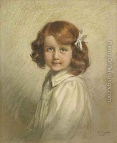 Portraitof A Girl, Half Length - Emily Eyres Children Painting, Painting For Kids, Disney Characters, Fictional Characters, Disney Princess, Art, Kids Coloring, Art Background, Kunst