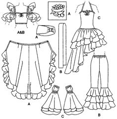 Sewing a Carmen Miranda Costume | 6756