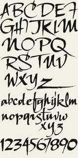 hand lettering fonts