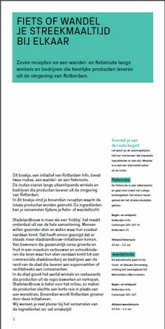 Fietsroute pagina 1