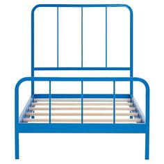 Twin Primary Bed (Blue)  | The Land of Nod