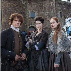 Jamie, Claire and Geilis
