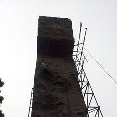 Rock Climbing at Astacala's wall.*Saat masih jadi siswa dan ini materi RC :D*