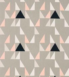 Contemporary Geometrics | Modul Fabric by Scion | Jane Clayton