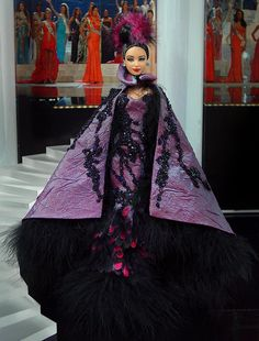 Miss Mongolia 2012 by Ninimomo Dolls