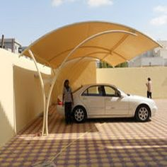 Car Park Shades In UAE 0568181007 car parking shed suppliers in dubai
