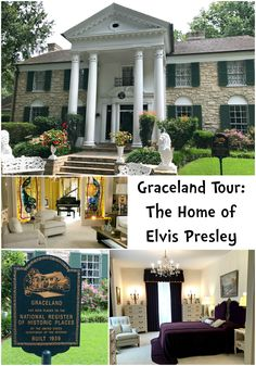 Go on a tour of Graceland and see a peek inside Elvis Presley's mansion. Find out what all there is to see and do at Graceland in Memphis, Tennessee.