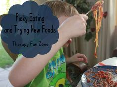picky eating and transitioning to new foods when a sensory problem is the cause. You must go slow to change the textures and foods that are tolerated.