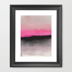 Double Horizon by Georgiana Paraschiv as a high quality Framed Art Print.  Worldwide Shipping available at Society6.com. Just one of millions of products available.