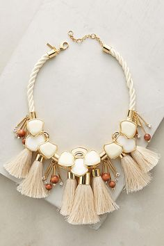 Lele Sadoughi Peking Bib Necklace - from anthropologie