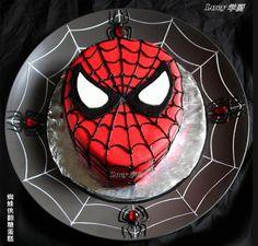 Cake Art: Spiderman
