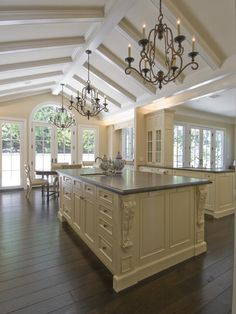Beautiful Kitchens and Dining Rooms | French Country