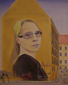 Paint it loud say it big  Oil on canvas 40 cm times 50 cm