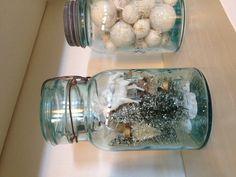 Vintage Christmas jars