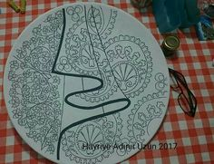 ÇİNİ 1 Art Patterns, Pattern Art, Islamic Art Pattern, Plates, Licence Plates, Dishes, Griddles, Dish, Plate