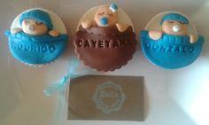 Cupcakes bebés. Cupcakes babyshower.