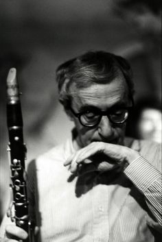 Woody With his clarinet.