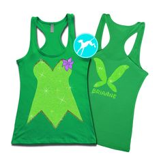 Tinkerbell Marathon Run Disney dress up Princess by BranchBirds