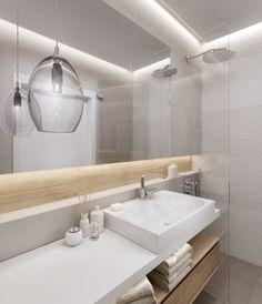 Luxury indirekte Beleuchtung an Wand und Decke