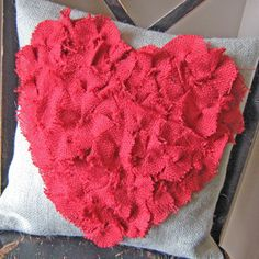 Candybox Heart Pillow