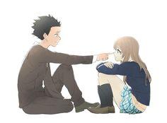a silent voice Cute Anime Pics, Anime Love, Koe No Katachi Anime, A Silence Voice, A Silent Voice Anime, Anime Manga, Anime Art, Der Computer, Kimi No Na Wa