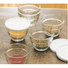 Pampered Chef Prep Bowls. Love These. I Love That Their Stuff Comes With  Lids