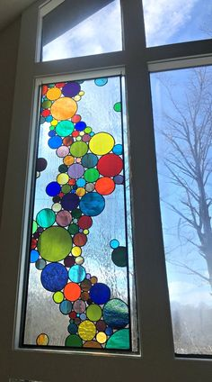 Floating Bubbles-Stained Glass Panel – Best Picture For Arts and Crafts For Your Taste You are looking for something, Faux Stained Glass, Stained Glass Designs, Stained Glass Panels, Stained Glass Projects, Stained Glass Patterns, Glass Painting Patterns, Stained Glass Studio, Mosaic Art, Mosaic Glass