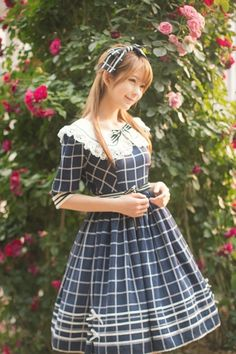 Sailor Lolita Yurisa Chan Kawaii Japanese Street Style Fashion Harajuku