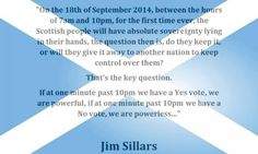 10.01pm on the 18th September 2014 - let's make sure we still have control of our own destiny! #IndyRef @NaeFear pic.twitter.com/2MGoOD2lLD