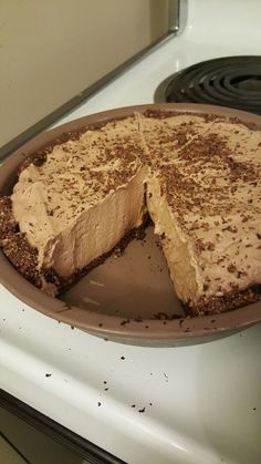 7 Carb Chocolate Pie