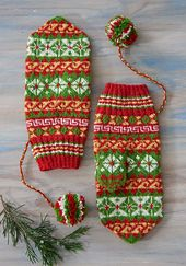 From the book with 5 Saami mitten patterns from Finland, Sweden and Norway |  Ravelry: Ájtte Treasure Mittens pattern by Laura Ricketts