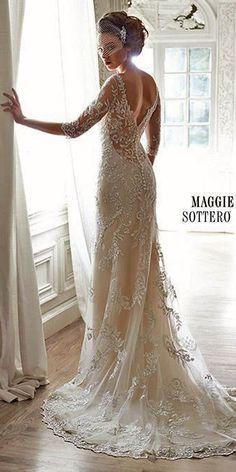 Best Of Romantic Wedding Dresses By Maggie Sottero ❤ See more: www.weddingforwar... #weddings
