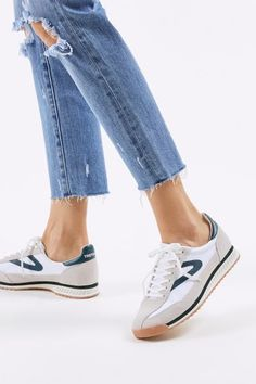 Shop Tretorn Rawlins 8 Sneaker at Urban Outfitters today. We carry all the latest styles, colors and brands for you to choose from right here. Fashion Joggers, Sneakers Fashion, Latest Sneakers, Tretorn Sneakers, Vintage Sneakers, Most Comfortable Shoes, W 6, Sneaker Boots, Me Too Shoes