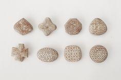 陶器のブローチ #2