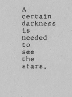 ...to see the stars.