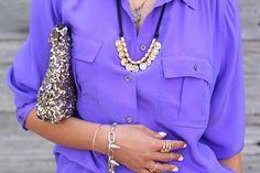 purple blouse - Google Search